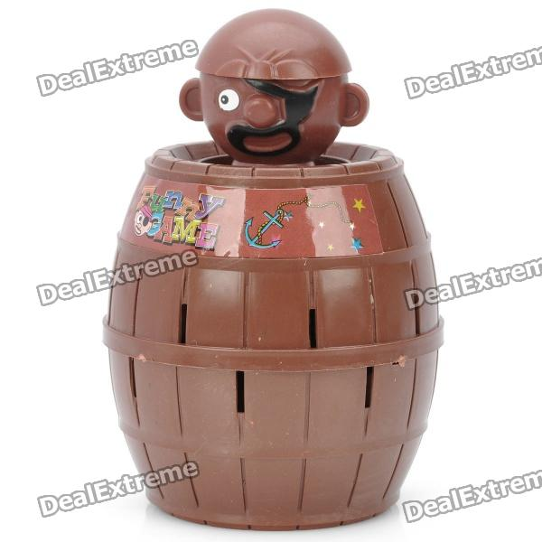 Funny Jumping Pirate Bucket Toy