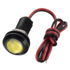 3W 140LM 6000K White 1-LED Eagle Eye Light (DC 12V)