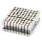6A Fusível Vidro Set Tube (100 Piece-Pack / 5 x 20mm / F)