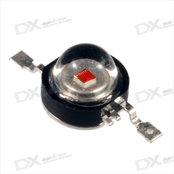 3W LMY050100B 80~100-Lumen Yellow LED Emitter (3.2~3.6V 620~680mA) 050100 3