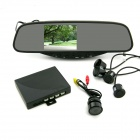 "3.5"" Rearview Mirror Car Parking System"