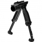 FAB Foregrip Flashlight Holder Bipod T-POD - Black