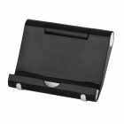Plastic Adjustable Holder Stand for iPhone / iPad - Black 
