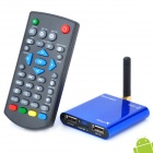 Mini Android 2.3 HD 1080P Network Media Player w/ Wi-Fi / HDMI / USB / AV / TF - Blue