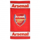 Arsenal Football Soccer Club Logo Baumwolle Badetuch - Rot