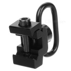 21mm Aluminum Alloy Sling Swivel Mount - Black
