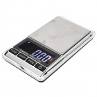 1.8&quot; LCD Pocket Digital Scale - Black (500g / 0.01g / 2 x AAA)
