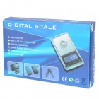 "1.8"" LCD Pocket Digital Scale - Black (500g / 0.01g / 2*AAA)"