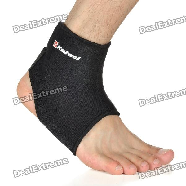 KAIWEI 0643 Elastic Ankle Belt Wrap Brace Support - Black