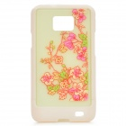 Light Yellow Orchid Protective Back Case for Samsung I9100