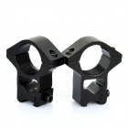 25mm Gun Mount Holder Clip for Flashlight (Pair)