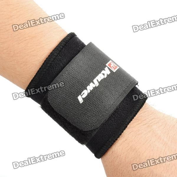 KAIWEI 0602 Elastic Wrist Brace Support Protector - Black