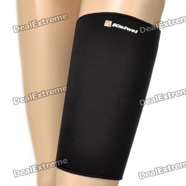 KAIWEI 0630 Elastic Thigh Brace Wrap Support - Black + Blue