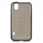 Protective TPU Back Case for LG LS855 - Dark Grey