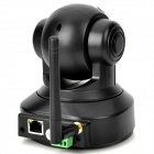 EasyN CMOS 300KP Security Surveillance IP Network Camera w/ TF / 9-LED Nigh Light Vision - Black