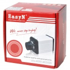 EasyN F-M091 CMOS 300KP Security Surveillance IP Network Camera - White + Black