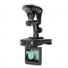 "2.4"" 720P HD Car DVR 5MP Multi-language 2-IR LED Night Vision/ Motion Detection"