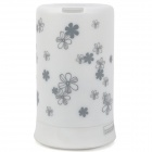 Stylish Gypsophila Pattern Multicolored Mini Aroma Diffuser Humidifier - White (100ml)