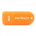 Patriot Mini Jelly Style Soft Silicone USB 2.0 Flash Drive Disk - Orange (8GB)