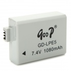 Replacement GD-LPE5 7.4V 1080mAh Battery for Canon EOS 450D / 1000D / 500D