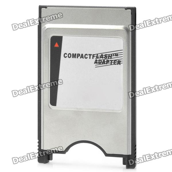 цены на SanDisk 50-Pin CompactFlash CF to 68-Pin PCMCIA Adapter - Silver + Black