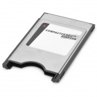 SanDisk 50-Pin CompactFlash CF to 68-Pin PCMCIA Adapter - Silver + Black