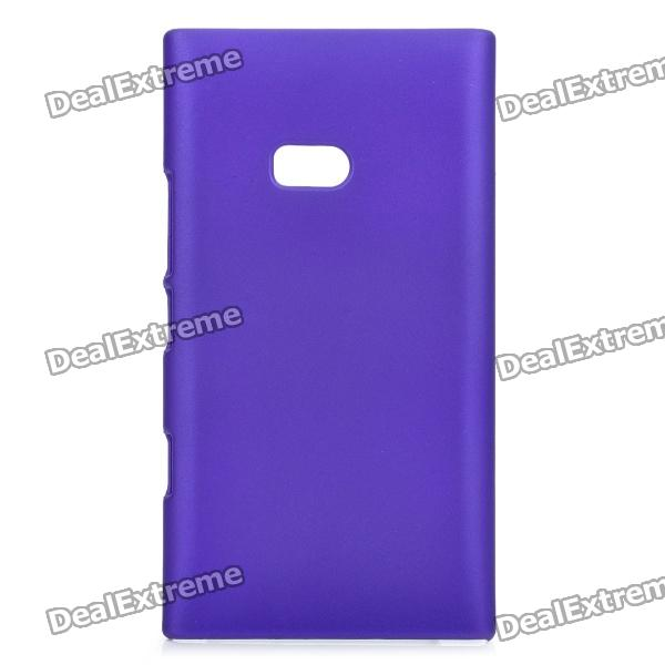Protective Frosted PVC Back Case for Nokia Lumia 900 - Purple