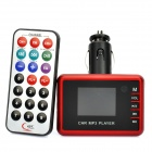 "1.4 ""Auto MP3 MP4 Player FM Transmitter mit Fernbedienung - Rot"