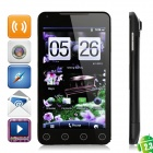 "DaPeng A7 Android 2.3 WCDMA Smart Phone w/ 5.0"" Capacitive, GPS, Wi-Fi and TV - Black"