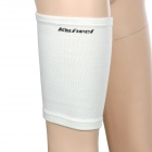 Protective Sports Elastic Thigh Support - White