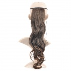 Fashion Long Curly Hair Wigs - Light Tan