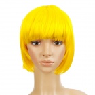Fashion Short Hair Wigs - Yellow
