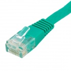 RJ45 a RJ45 Cat.6 cable de red plana - Verde (10M)