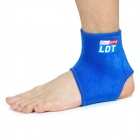 Sport Elastic Ankle Support Brace Protector - Blue