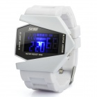 "1.2"" LED Waterproof Digital Wrist Watch - White (1 x LR626)"