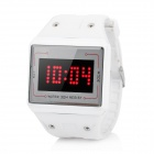 Fashion Touchable Digital LED Wrist Watch - White (1 x LR626)