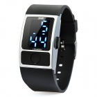 "1.0"" LED Waterproof Digital Wrist Watch - Black (1 x LR626)"