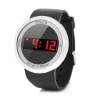 "1.3"" LED Touch Key Digital Wrist Watch - Black (1 x LR626)"