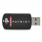 PATRIOT RAGE USB 2.0 Flash Drive - Black (8GB)