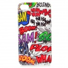 Cool Graffiti Style Protective Plastic Case for Iphone 4 / 4S (Multi-Color)