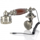Antique Handset Microphone for Iphone (3.5mm Plug)