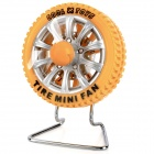 Tire Style USB Powered 3-Blade Fan - Yellow