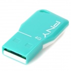 PNY Mini USB 2.0 Flash Drive - Blau (4GB)