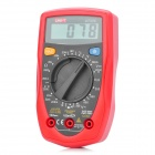 "UNI-T UT33C 2.0"" LCD Digital Multimeter - Red + Black (1 x 9V 6F22)"