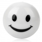 Cute Smile Face Style Color Changing LED Night Light Lamp - White