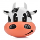 Cow Style Recording Player Fridge Magnet - Orange + White + Black(3 x LR44)