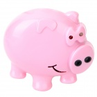Cute Pig Style Mini Voice Recorder Fridge Magnet - Pink (3 x LR44)