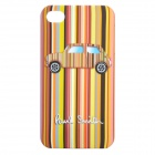 Colorful Car Pattern Protective Back Case for iPhone 4/4S
