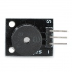 Arduino Compatible Active Speaker Buzzer Module - Black