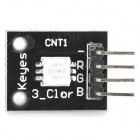 DIY Arduino 3-Color RGB SMD LED Module - Black